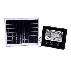Foco proyector LED Solar 4000K 40W 120° IP65 Negro