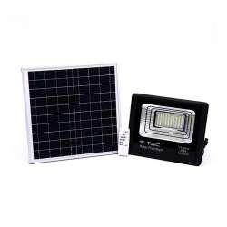 Foco proyector LED Solar 4000K 60W 120° IP65 Negro