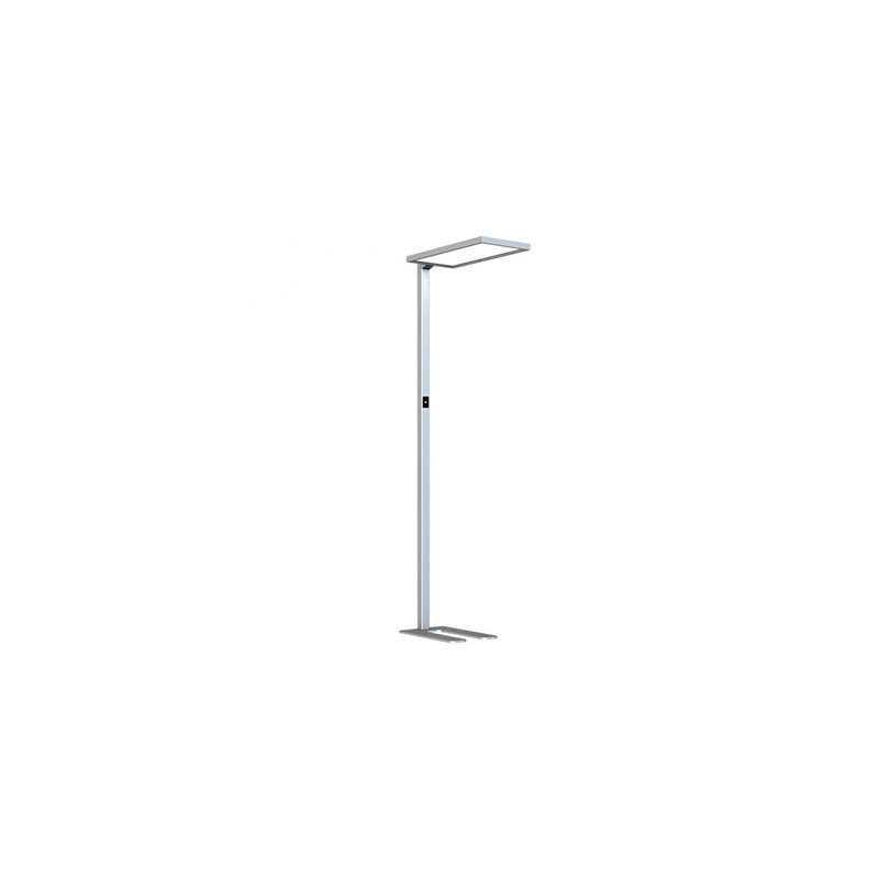 Lámpara de pie Touch Dimming 4000K 80W 110° Plata
