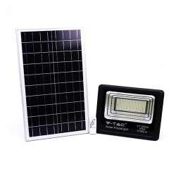 Foco proyector LED Solar 4000K 200W 120° IP65 Negro