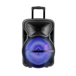 Altavoz portátil recargable Wireless Speaker 50W RGB + micrófonos
