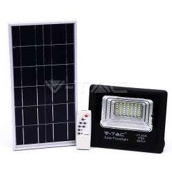 Foco proyector LED Solar 4000K 25W 120° IP65 Negro