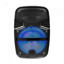 Altavoz portátil recargable Wireless Speaker 15W RGB + micrófono