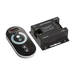 Controlador dimmer para tira LED máx. 216/432W 6A/CH DC12/24V + mando táctil