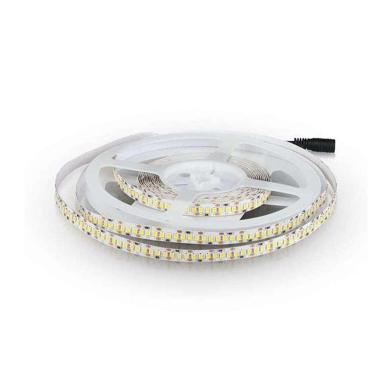 Tira led SMD2835 High Lumen 18W/m 204 leds/m 12V IP20 5 metros