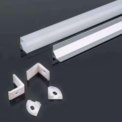 Perfil aluminio tira LED de...