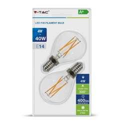 Blister Bombillas LED E14...