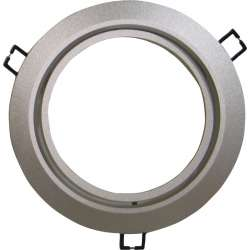 Aplique de fijación AR111 circular metalizado